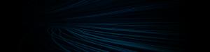 streaks of blue on black background