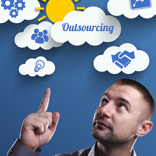 Outsourcing managed applications