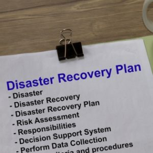 Disaster recovery services